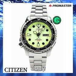 Citizen NY0040-50W FULL LUME Promaster Aqualand Automatic Diver's 20 Bar Mares