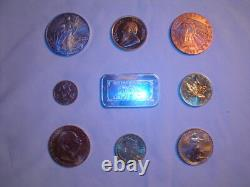Counterfeit Fake Gold Silver Coin Bar Detector Eagle Krugerrand Maple Leaf Peso