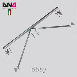 DNA Racing Rear Strut Bar with Tie Rods fits for Fiat 500 Abarth Euro (2007+)