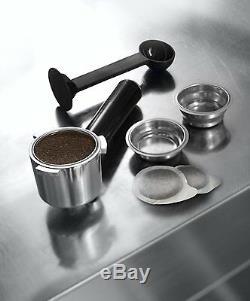 Delonghi EC680 Dedica 15 Bar Pump Espresso Latte Cappuccino Maker, Stainless