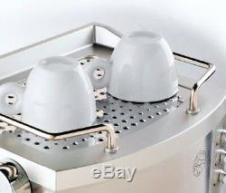 Delonghi Espresso Machine Latte Cappuccino Maker 15 Bar Pump Compact Stainless