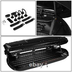 FOR 09-16 AUDI Q5 ROOF TOP CARGO STORAGE LUGGAGE BOX CASE WithALUMINUM CROSS BAR