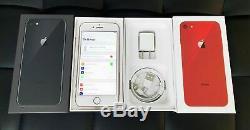 Factory Unlocked Apple iPhone 8 64GB 256GB AT&T T-Mobile Verizon NEW UNUSED