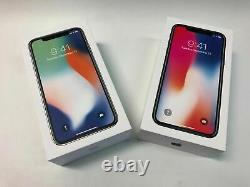 Factory Unlocked Apple iPhone X 64GB 256GB AT&T T-mobile Verizon NEW UNUSED