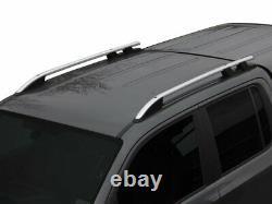 Fit For Mitsubishi Triton L200 Silver Gray Roof Rails Side Bars 2019-2020