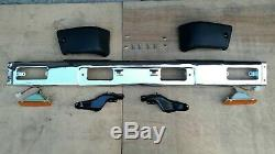 Fit For Toyota 84-88 Pickup Hilux 4WD Chrome Front Bumper Bar Assembly