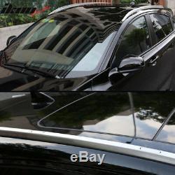 Fits 16-18 Honda HRV Vezel OE Factory Style Roof Rack Brushed Aluminum Set
