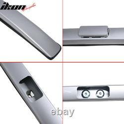 Fits 17-21 Honda CRV OE Factory Style Top Roof Rack Rail Bar Aluminum Silver 2PC