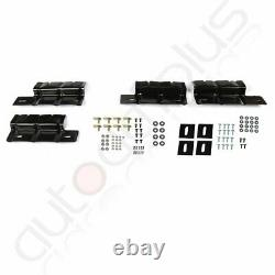Fits 2011-2021 Jeep Grand Cherokee Side Step Style Nerf Bars Running Board