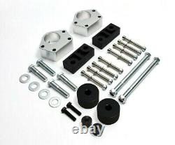 Fits 86-95 Toyota IFS Pickup 3 Fr Leveling Lift Kit Diff Drop Sway Bar 4WD Sil