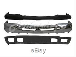 For 02-06 CHEVY AVALANCHE 1500 2500 FRONT BUMPER UP TRIM CAP BAR CHROME VALANCE