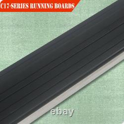 For 09-15 Honda Pilot Sport 6 Running Boards Rail Bar Side Step Stainless Steel