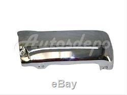For 1996-1998 4Runner Rear Bumper BAR + Extension End Chrome With Flare Hole 3P