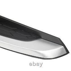 For 2017-2019 Honda CRV Silver Running Boards Side Step Bar Aluminum 18