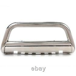For 98-2005 Benz Mercedes M Class W163 ML Bumper Guard Bull Bar Stainless Steel