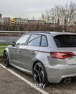 For Audi A3 S3 RS3 2014 2018 Aluminium Silver Roof Rails Rack Bars Sportback 8V