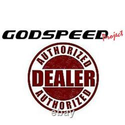 For Honda Civic 92-95 EG Godspeed SB-060-Silver Rear Sway Bar Subframe Brace Kit