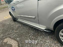 Ford Transit Custom 2012+ Lwb Running Boards Steps Bar Side Steps Bar Stylish