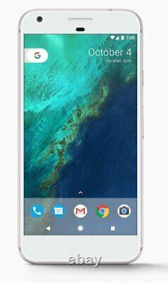 Google Pixel XL 128GB VERY SILVER / WHITE (GSM GLOBAL Unlocked) Openbox