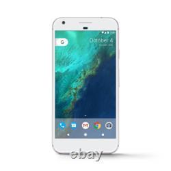 Google Pixel XL 128GB Very Silver (Verizon + GSM Unlocked) Smartphone New