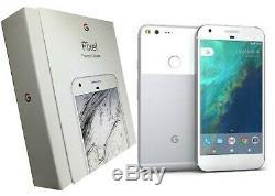 Google Pixel XL Unlocked Very Silver 128 GB Bundle/Open Box Free Shipping