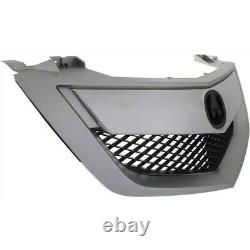 Grille Assembly For 2010-2013 Acura MDX with Upper Bar with Technology Pkg Model