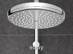 Grohe Tempesta Cosmopolitan 210 Thermostatic Bar Mixer Shower System Rain Riser