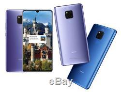 Huawei Mate 20 X AMOLED Blue/ Silver 6/128GB 40MP 7.2 DualSim Phone CN FREESHIP