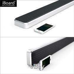 IBoard Running Boards 4 inches Fit 00-20 Chevy Tahoe GMC Yukon Cadillac Escalade