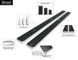 IBoard Running Boards 6 inches Fit 09-18 Dodge Ram 1500 2500 3500 Crew Cab