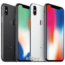 IPhone X (10) 64GB/256GB Apple Mobile Smartphone iOS WiFi Factory Unlocked