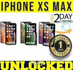 IPhone XS MAX 64GB256GB (FACTORY UNLOCKED) SPACE GRAYSILVERGOLD SEALED(w)