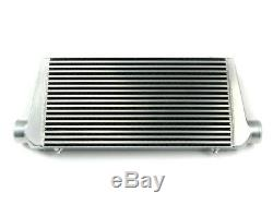 Intercooler 600x300x76mm PLAZMAMAN Bar and plate Silver