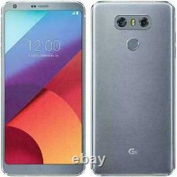 LG G6 H872 5.7 32GB Tmobile Unlocked GSM Dual 13MP Camera. Ice Platinum New