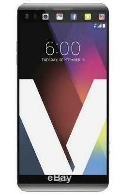 LG V20 64GB 4G LTE (AT&T Unlocked) Silver Smartphone L/N