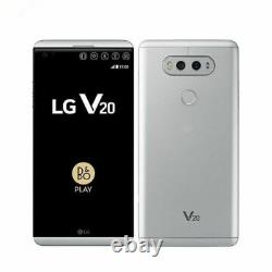 LG V20 H910 Silver 4G LTE 64GB 5.7 Android 16MP Camera AT&T T-Mobile Unlocked