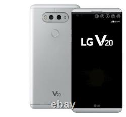 LG V20 H910A 64GB Silver (AT&T + GSM UNLOCKED) Smartphone NEW INBOX