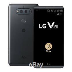 LG V20 H918 64GB 4G LTE (Unlocked) T-Mobile 4GB RAM Android Nougat Titan, Silver