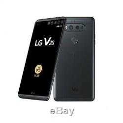 LG V20 H918 64GB Factory Unlocked 5.7'' 4GB RAM Smartphone Titan Silve CellPhone