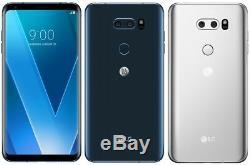 LG V30+ H930DS 128GB (FACTORY UNLOCKED) 6.0 4GB RAM Silver Black Violet Blue