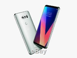 LG V30 H933 64GB GSM Unlocked Smartphone-Silver-Mint