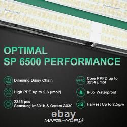 Mars Hydro SP 6500 3000 150 LED Grow Light Full Spectrum Bar Strip Indoor Plant