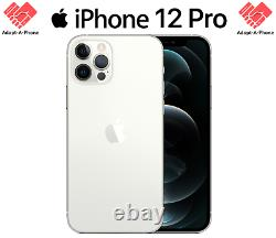 NEW Apple iPhone 12 Pro 128GB Silver T-Mobile + Metro + Sprint MGFP3LL/A