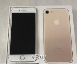 NEW Apple iPhone 7 128GB Black Silver Rose Gold RedGSM UnlockedAT&TT-Mobile