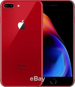 NEW Apple iPhone 8+ PLUS 256GBSGraySilverGoldRedUnlockedAT&TVZNTMO
