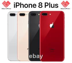 NEW Apple iPhone 8 Plus 64GB Silver AT&T + Cricket A1897