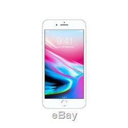 NEW Apple iPhone 8 Plus 64GB Silver AT&T / Cricket MQ8U2LL/A