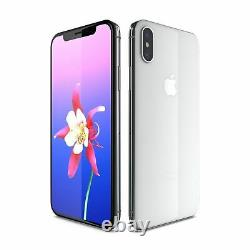 NEW Apple iPhone X 256GB Silver Unlocked T-Mobile AT&T Metro Cricket