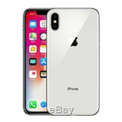 NEW Apple iPhone X 64GB 256GB Space Gray Silver (A1901, Factory Unlocked)