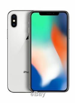 NEW Apple iPhone X 64GB Silver AT&T / Cricket A1901